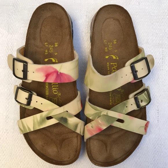 PAPILLO 7 by birkenstock flower sandals